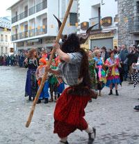 Carnavales 2009 en Sobrarbe – Bielsa – Chistau – La Fueva