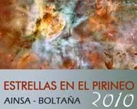 """Jornadas """"Estrellas en el Pirineo"""" 2010"""