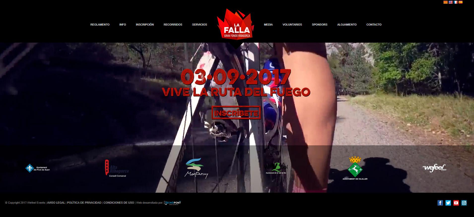 Gran Fondo La Falla, marcha cicloturista en el Pirineo